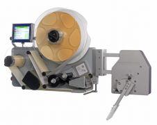 De Videojet 9950 : aanbrengen van labels op de voorzijde