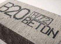 EBS-260 printvoorbeeld beton
