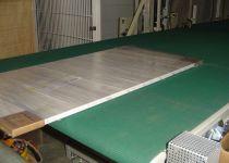 Omwikkelen van panelen voor keukens