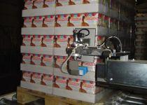 Pneumatische etiketteerarm