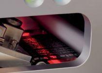 Een ingebouwde sensor waakt over de printkwaliteit