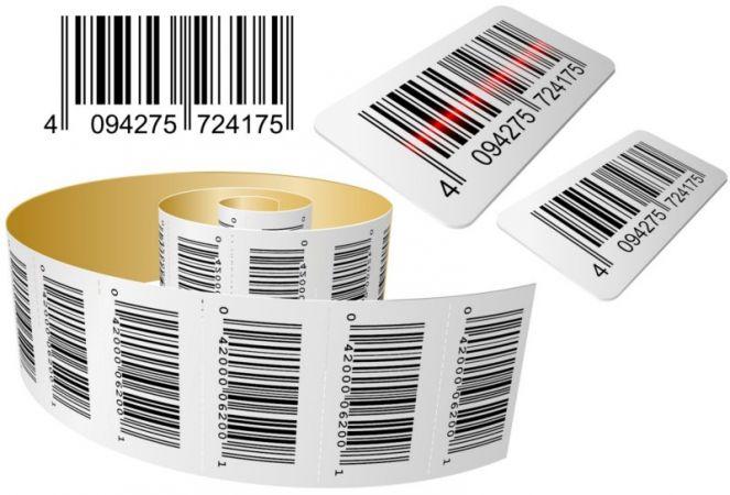 Etiquettes en différentes couleurs, dimensions, qualités, ...