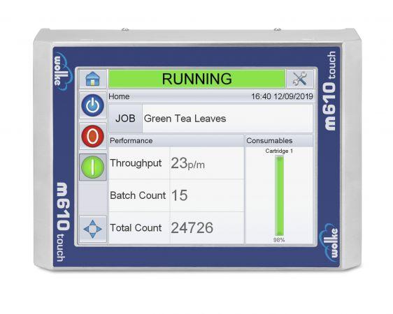 Videojet 8520 interface
