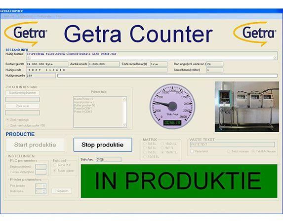Getra software look