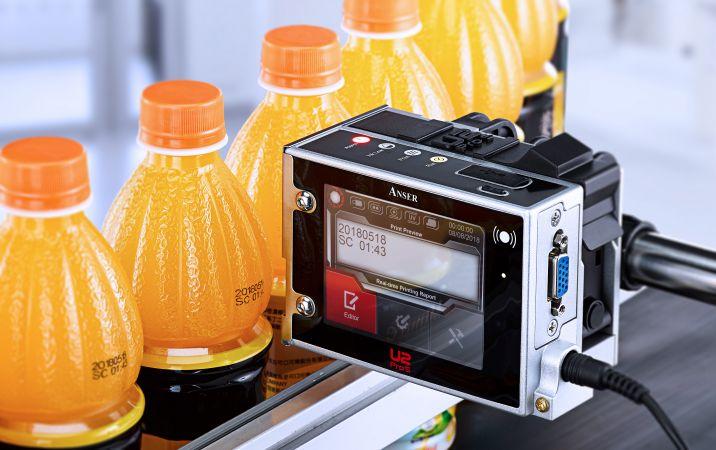 Anser U2 ProS printvoorbeeld