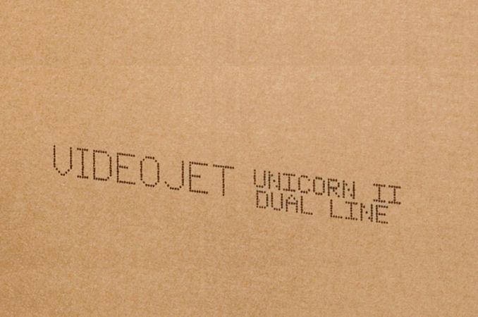 Codes tot 2 lijnen op kartonnen dozen